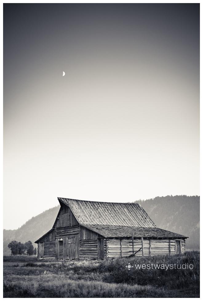 Barn along Mormon Row